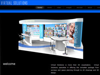 Virtual Solutions website